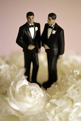 Gay Rights Wall Art - Photograph - Non-traditional Wedding Ceremony by Jim Corwin
