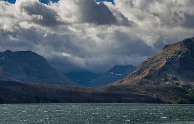 Photograph - Noontide At St. Mary Lake by Greg Nyquist