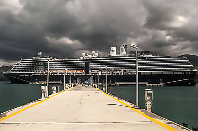 Photograph - Noordam by Maria Coulson