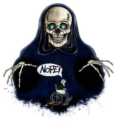 Nope Death Original by Stefan Catalin