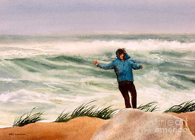 Painting - Nor 'easter by Karol Wyckoff