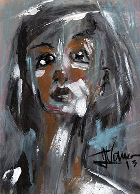 Painting - Nora by Jim Vance