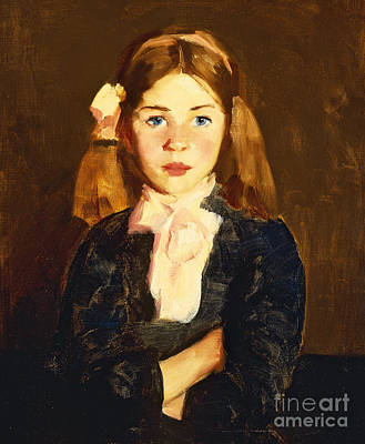 Irish Painting - Nora by Robert Henri