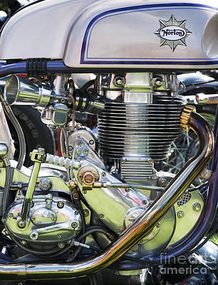 Norbsa Engine Art Print by Tim Gainey