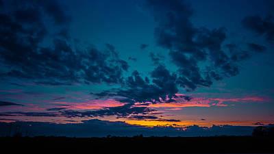 Norcal Sunrise Art Print by Ron Williams