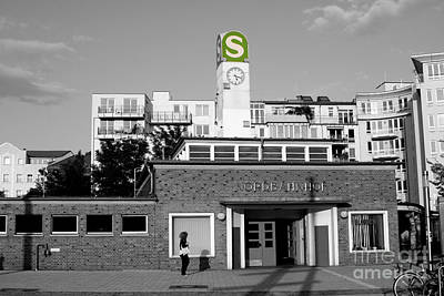 Art Print featuring the photograph Nordbahnhof Station In Berlin by Art Photography