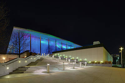 Photograph - Nordic Cool At The Kennedy Center by Metro DC Photography