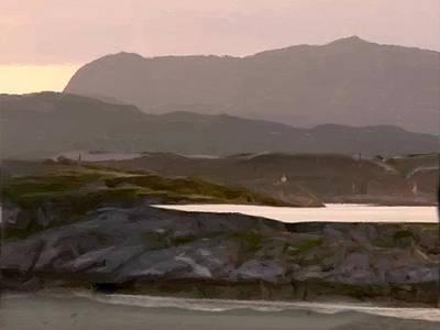 Painting - Nordic Fiord by Michaelalonzo   Kominsky