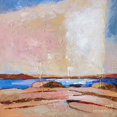 Painting - Nordic Seascape by Lutz Baar