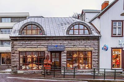 Photograph - Nordic Store by Maria Coulson