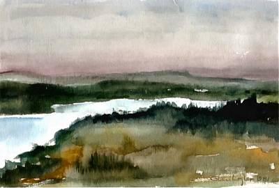 Nordic View Art Print by Gun Legler