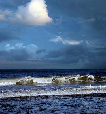 Nor'easter Blowin' In Print by William Sargent