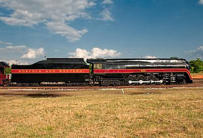 Photograph - Norfolk And Western 611 J-class by John Black
