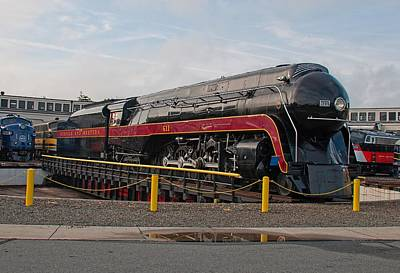 Photograph - Norfolk And Western Class-j 611 by John Black