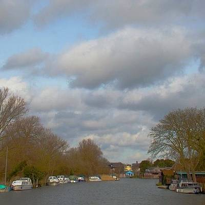 Norfolk Photograph - Norfolk Broads #norfolk #broads by Denise Brady