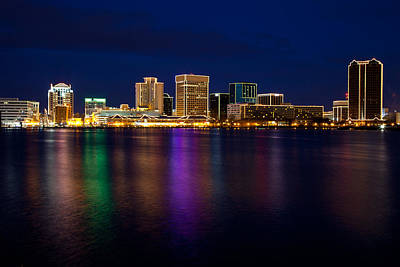 Photograph - Norfolk Skyline by Melinda Fawver