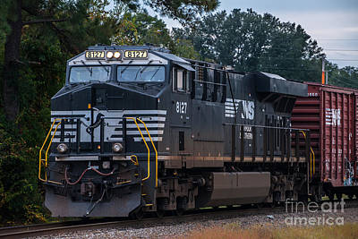 Photograph - Norfolk Southern 8127 by Dale Powell