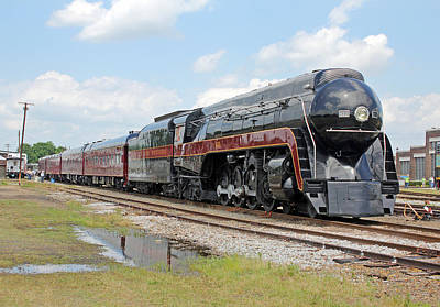 Photograph - Norfolk Western Railway J 611 by Joseph C Hinson Photography