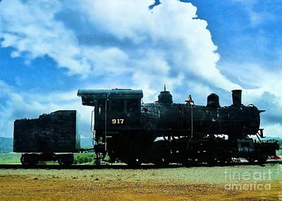 Norfolk Western Steam Locomotive 917 Art Print