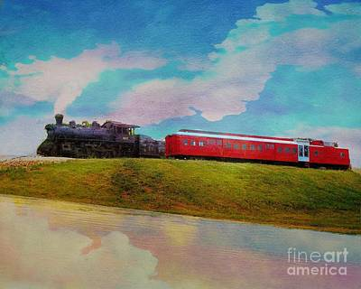 Photograph - Norfolk Western Steam Locomotive Two by Janette Boyd