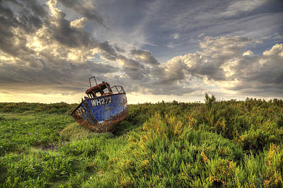 Photograph - Norfolk Wreck by Ian Merton