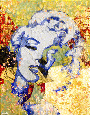 Norma Jean Be Fading Fast Art Print by Bobby Zeik