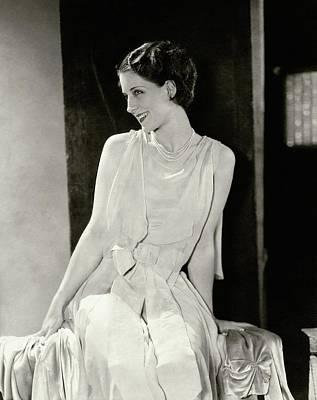 Norma Shearer Smiling Art Print