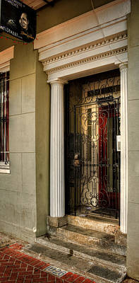 Window Signs Photograph - Norma Wallace On Conti Street In New Orleans by Chrystal Mimbs