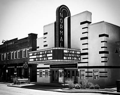 Photograph - Normal Theater by Jeff Burton