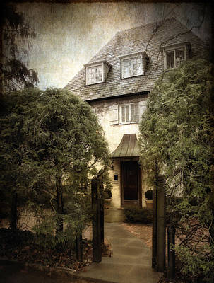 Entrance Door Photograph - Norman Charm by Jessica Jenney