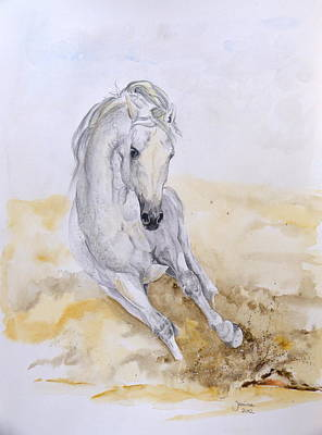 Norman Art Print by Janina  Suuronen