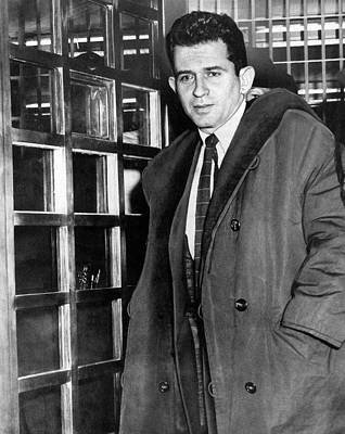 Photograph - Norman Mailer Ieaves Jail by Underwood Archives