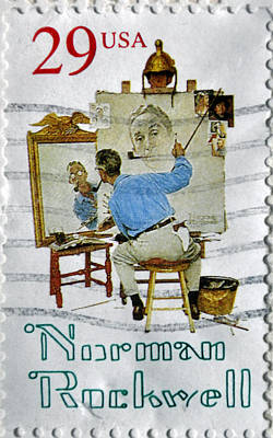 Photograph - Norman Rockwell by Tikvah's Hope