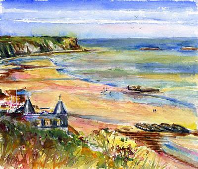 Normandy Beach Art Print