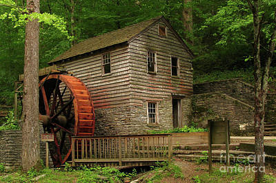 Rice Grist Mill Art Print by Douglas Stucky