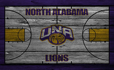 North Alabama Lions Art Print by Joe Hamilton