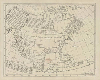 North America Print by British Library