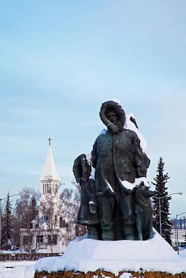 North America, Usa, Alaska, Winter Art Print by Terry Eggers