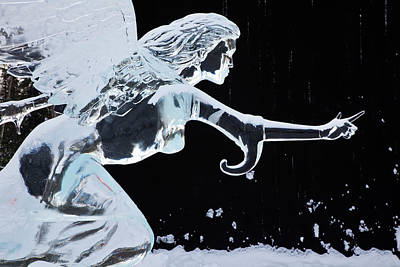 North America Usa Fairbanks World Ice Art Print