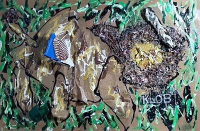 north American Bison with trash bits for realism Original by Kevin OBrien