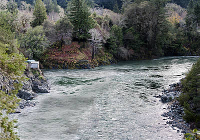 North And Middle Fork Of Smith River 2 Art Print