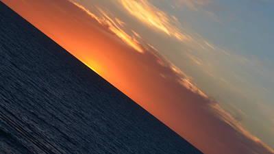 Photograph - North Beach Sunset 1.3 by Cheryl Miller
