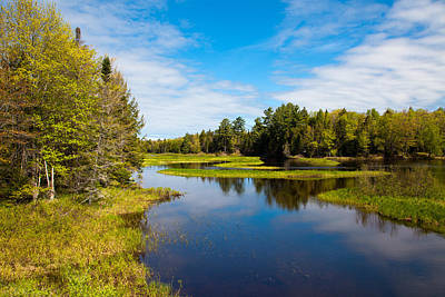 Mountains Photograph - North Branch Of The Moose River by David Patterson