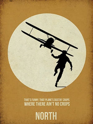Northwest Digital Art - North By Northwest Poster by Naxart Studio
