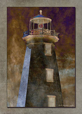 Photograph - North Cape Lighthouse 3 by WB Johnston