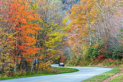 North Carolina, Blue Ridge Parkway Art Print by Jamie and Judy Wild