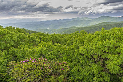 Photograph - North Carolina Blue Ridge Parkway by Willie Harper