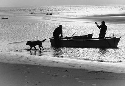 Photograph - North Carolina Fishermen by Bruce Roberts
