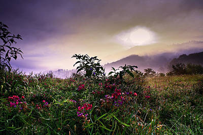 Photograph - North Carolina Mountain Morning  by Gray  Artus