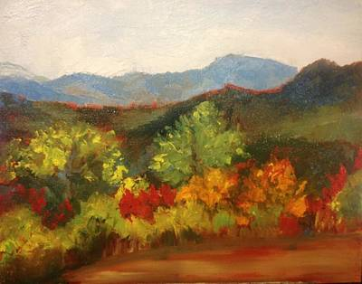 Painting - North Carolina Mountains by Jenell Richards